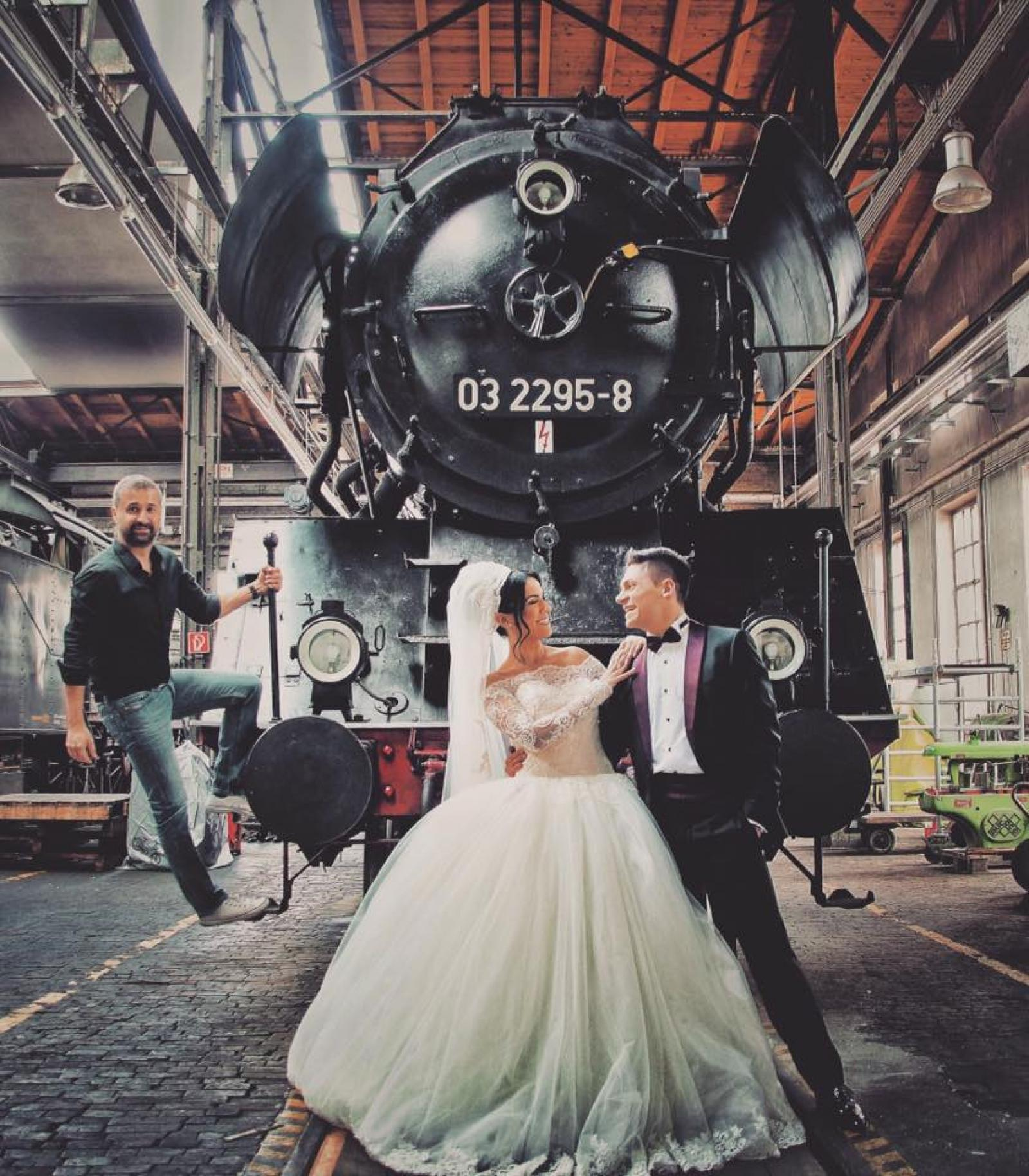 Bahnpark Augsburg Locomotive Wedding