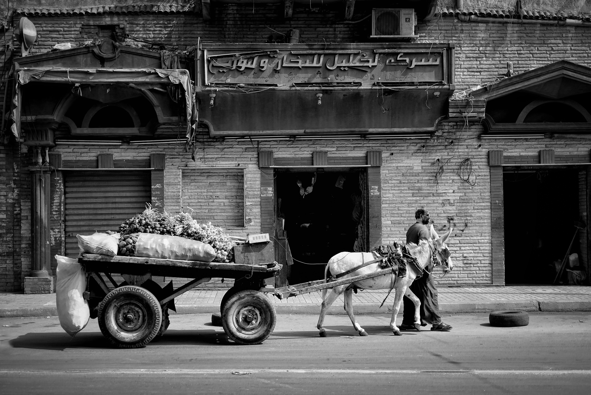 street life in Alexandria