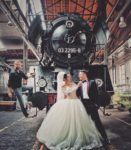Bahnpark Augsburg Locomotive Wedding