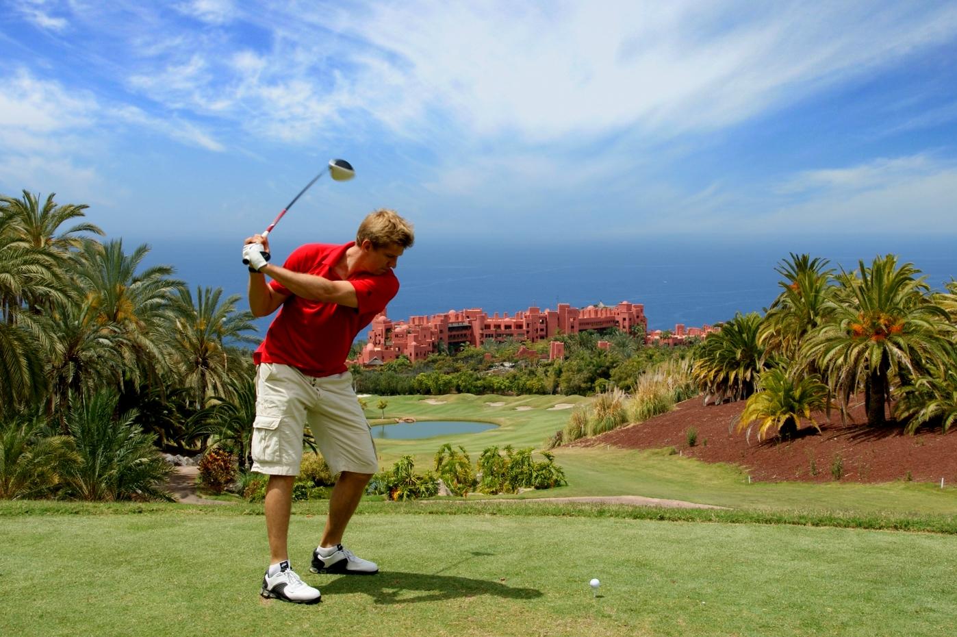 Abama Golf Resort Golf Player