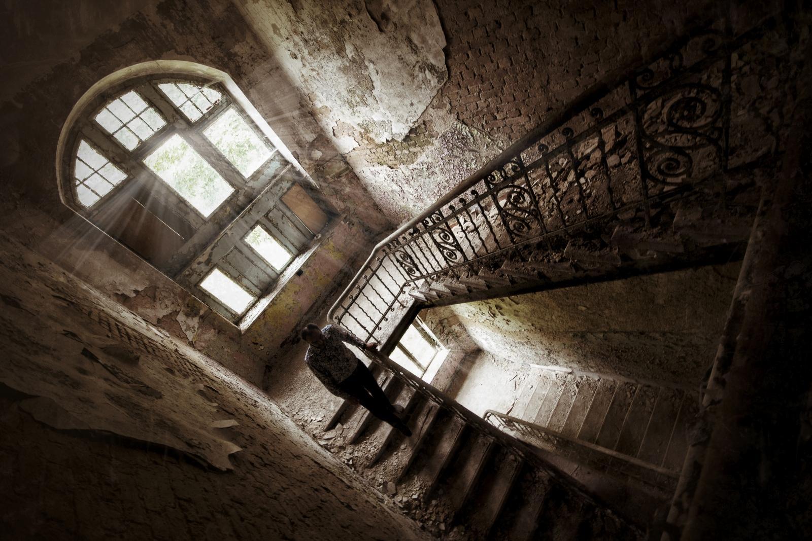 Abandoned building Beelitz