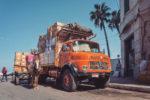 Tthe oldtimer mercedes truck