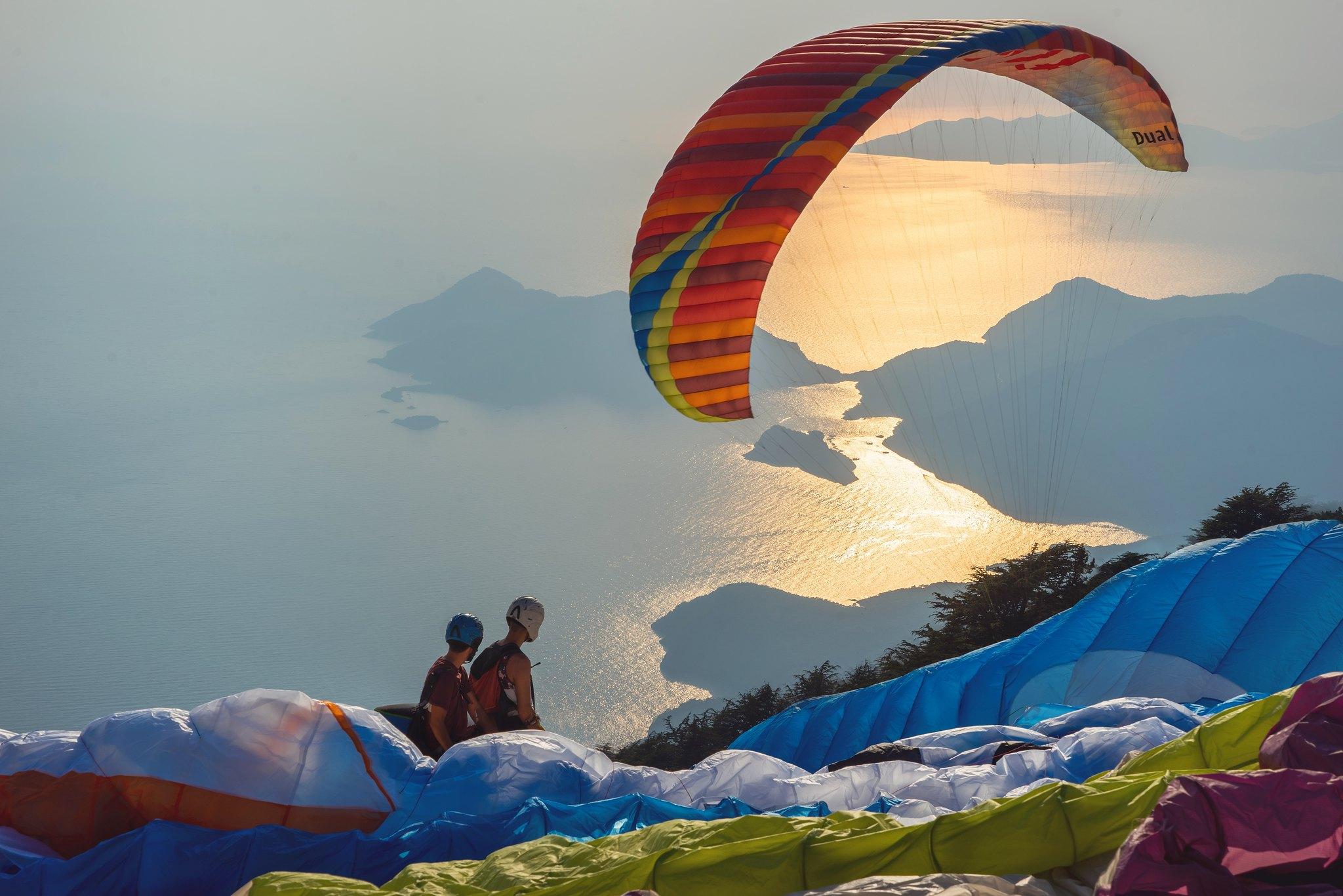 Paragliding Babadag