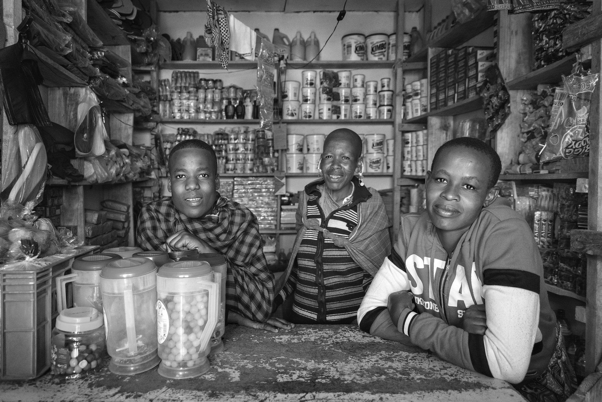 Maasai Shop in Arusha