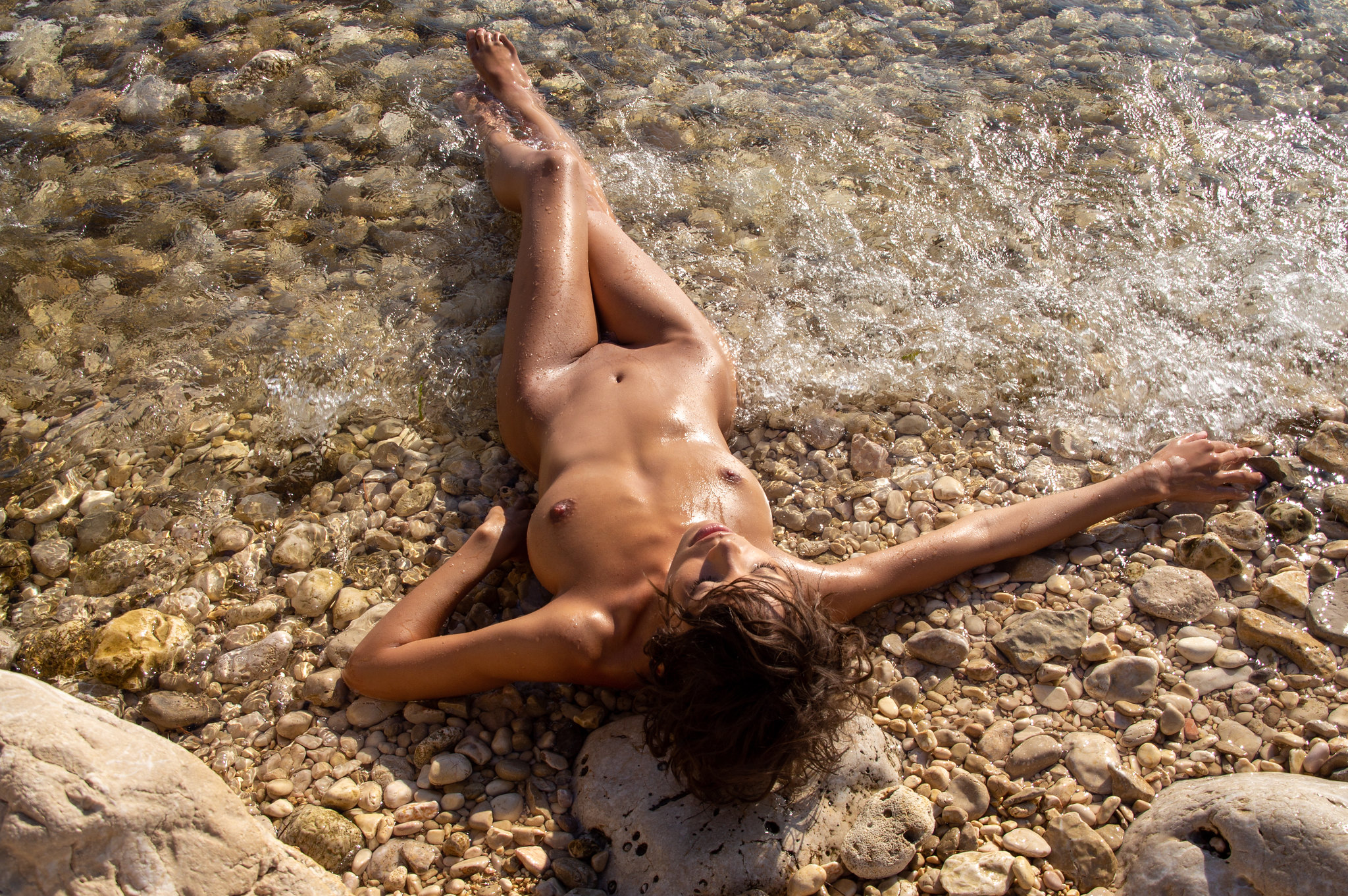 Nude at Croatia