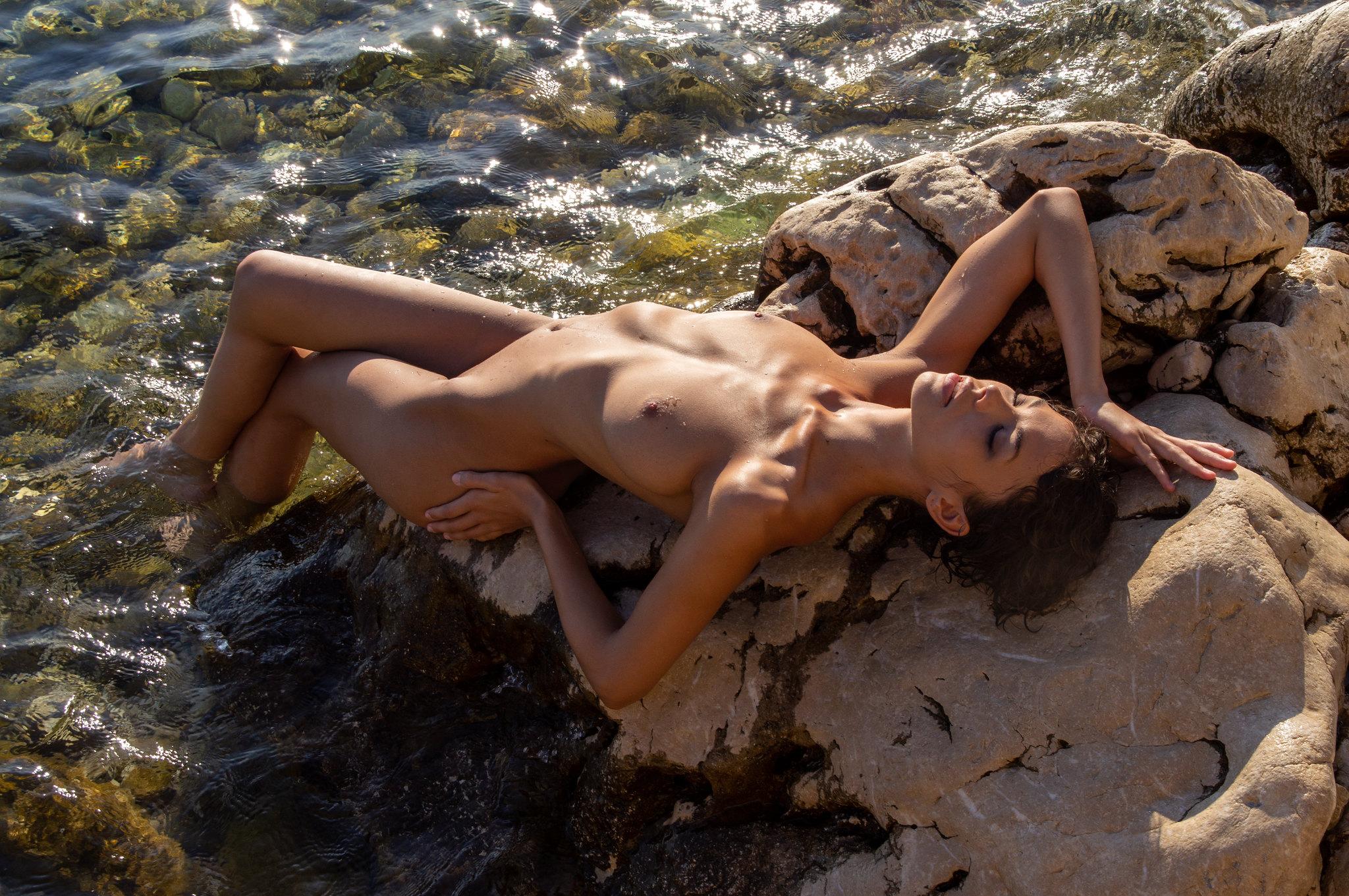 Nude at Croatia