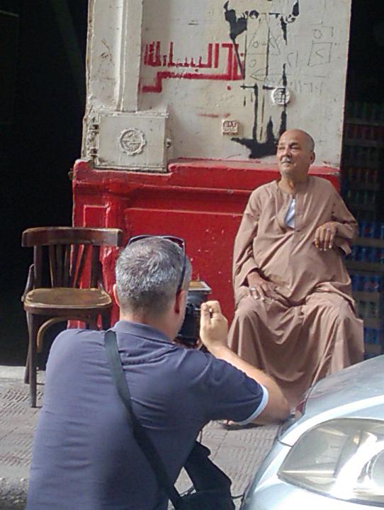 Shooting The Egyptian