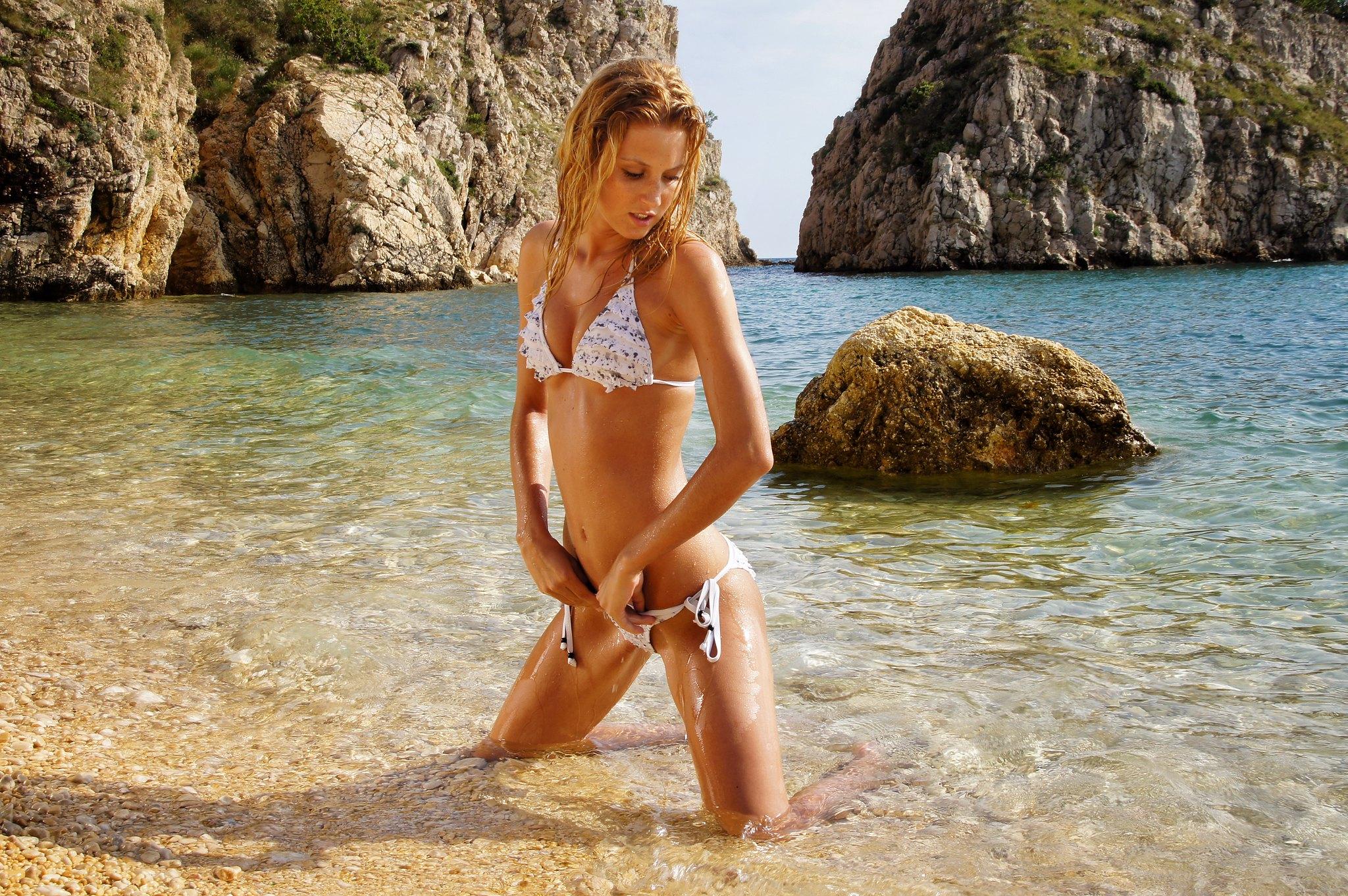 Lefkada bikini girl